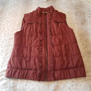 Christopher & Banks Jackets & Coats - Christopher & Banks Very Soft Puffy Vest